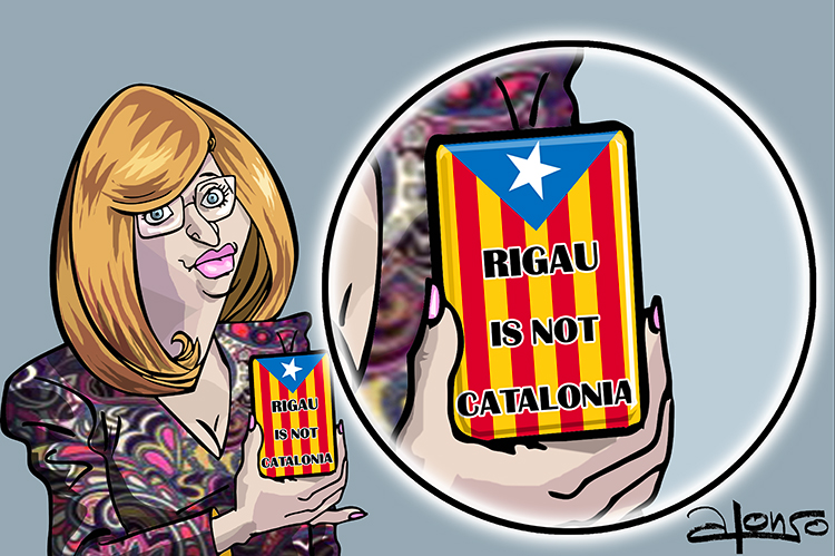 LA FUNDA DEL MOVIL DE RIGAU