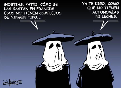 ETARRAS PENSANDO EN FRANCIA