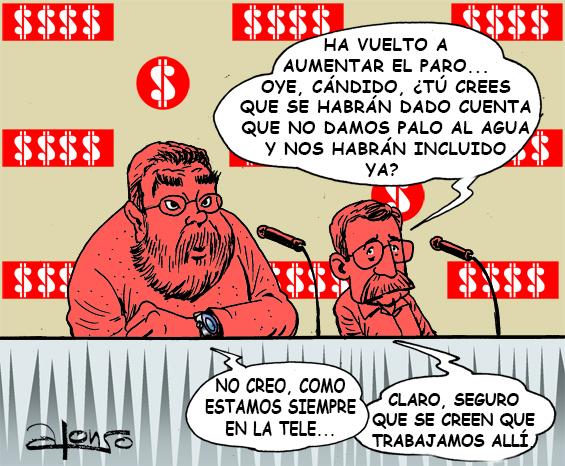 CANDIDO TOXO Y EL PARO