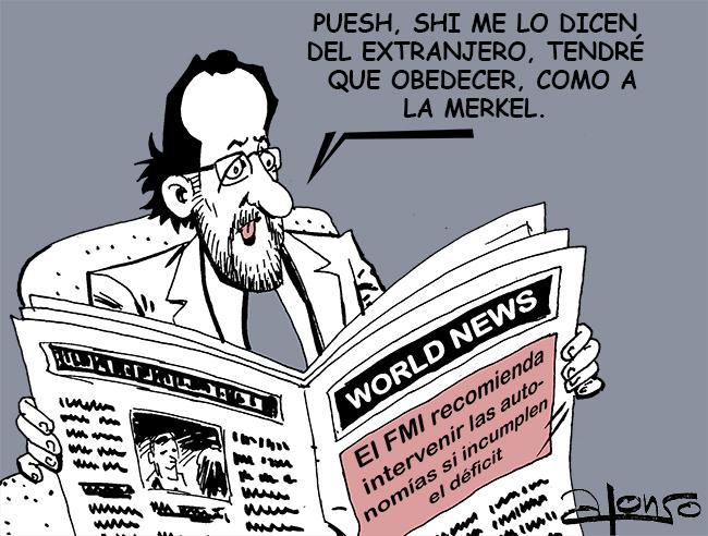 RAJOY Y EL FMI