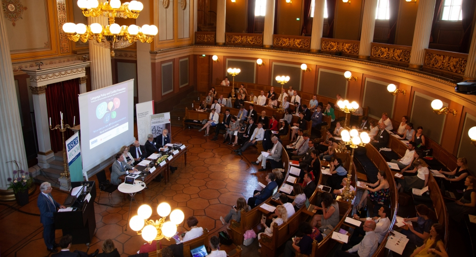 Impulso Ciudadano Participa En La Conferencia De La OSCE Sobre Política Lingüística