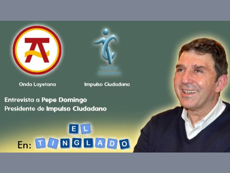 Entrevista En Onda Layetana A José Domingo, Presidente De Impulso Ciudadano