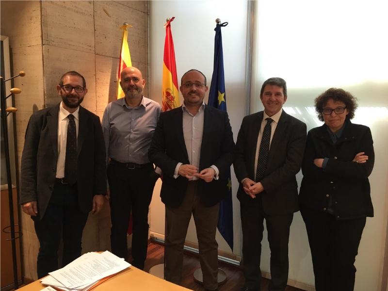 Impulso Ciudadano Se Reúne Con El Presidente Del Partido Popular De Cataluña