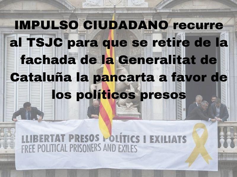 Recurso Tsjc Pancarta Generalitat