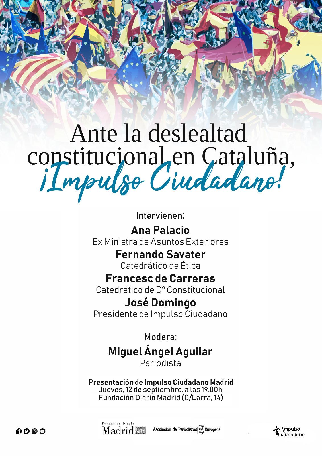 Impulso Ciudadano Se Presenta En Madrid