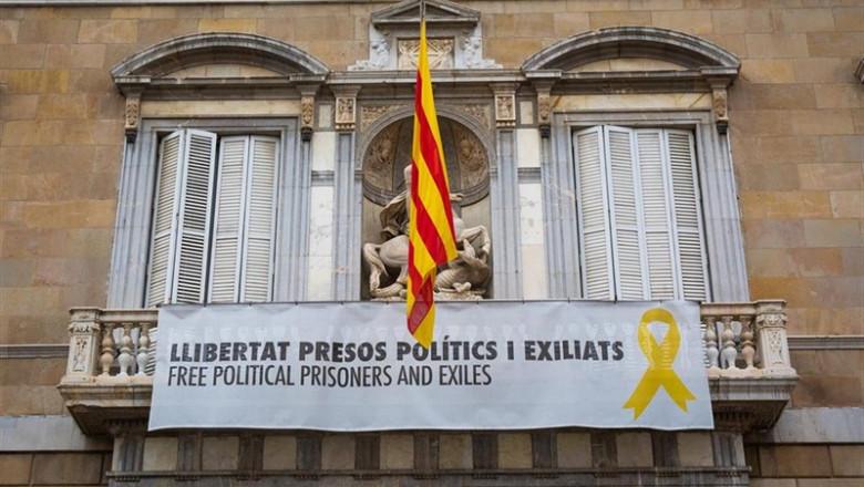 Foto Pancarta Generalitat