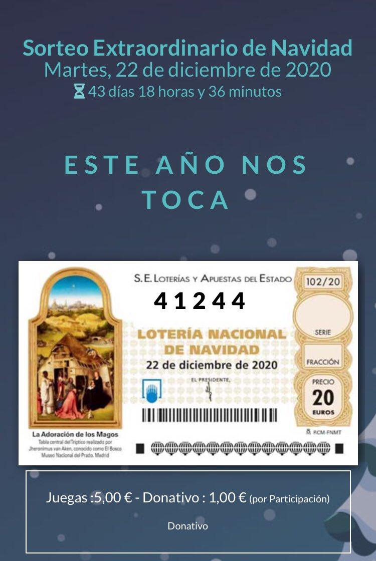 🎄 Lotería De Navidad De Impulso Ciudadano 🎄