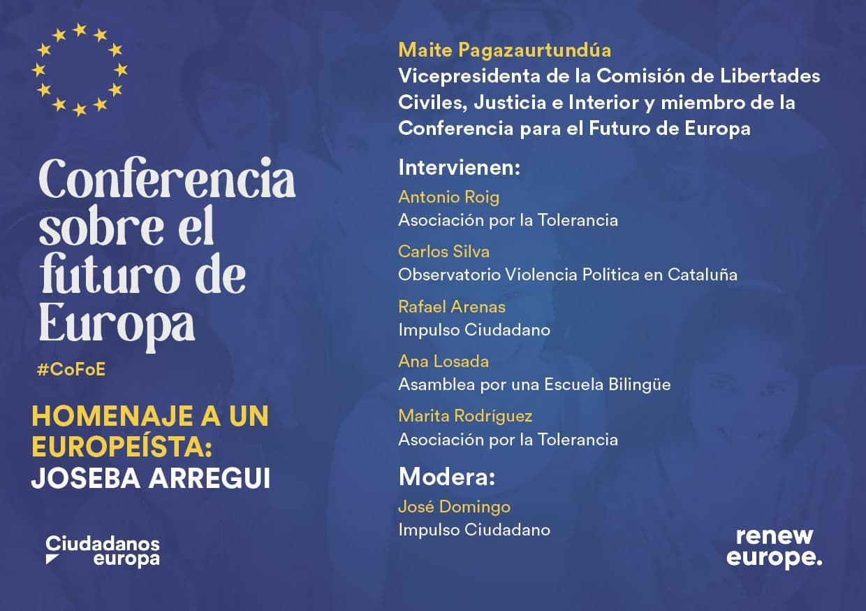 Entidades Constitucionalistas Trasladan A La Eurodiputada Maite Pagaza Propuestas Sobre El Futuro De Europa